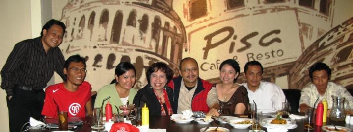 Kopdar Bloggers Pissa Cafe